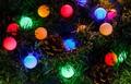 Новогодняя светодиодная гирлянда 28 ламп