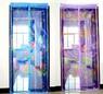 Москитная сетка с вшитыми магнитами и вставками, 100х210 см