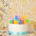 """Свечи для торта """"С Днём Рождения"""""""
