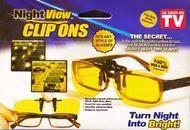 "Антибликовые насадки на очки ""Night View Clip Ons"""