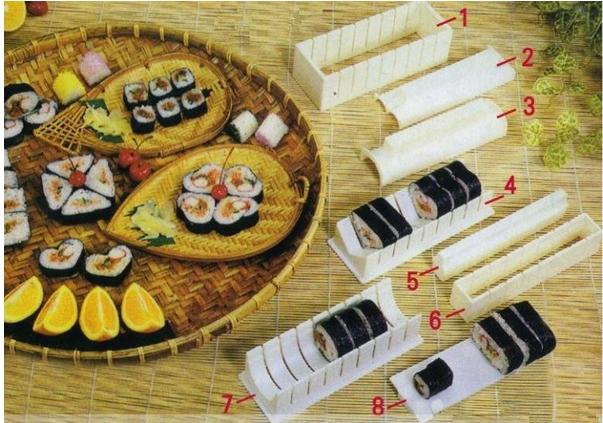 Роллы в домашних условиях набор для суши